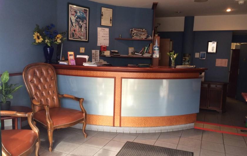 Location de vacances - Hôtel - Auberge à Royat - Réception