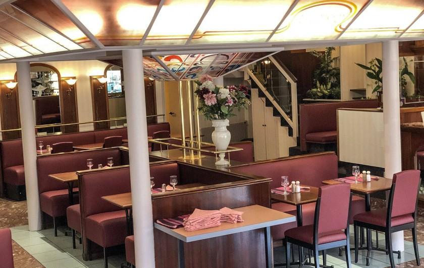 Location de vacances - Hôtel - Auberge à Royat - Salle du restaurant