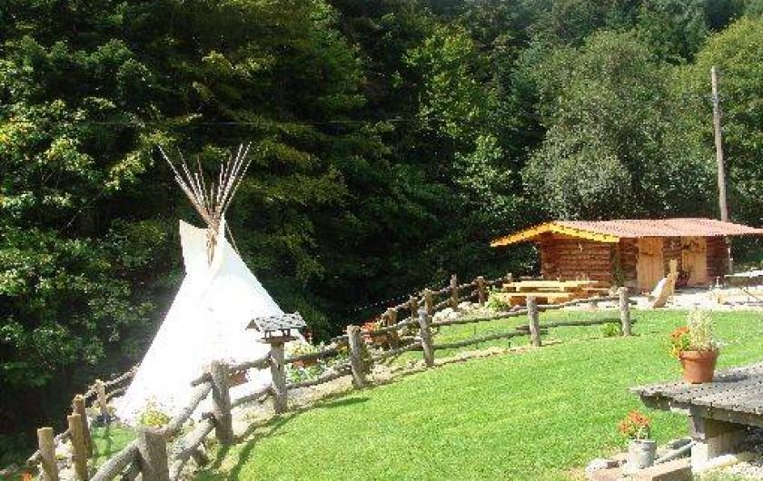 Location de vacances - Tipi à Le Hohwald