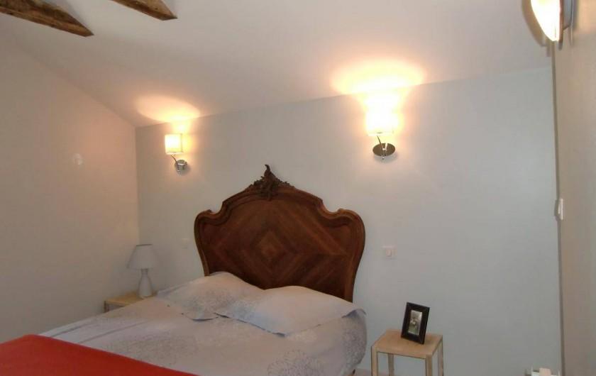 Location de vacances - Maison - Villa à Roumegoux - Chambre lit de 160