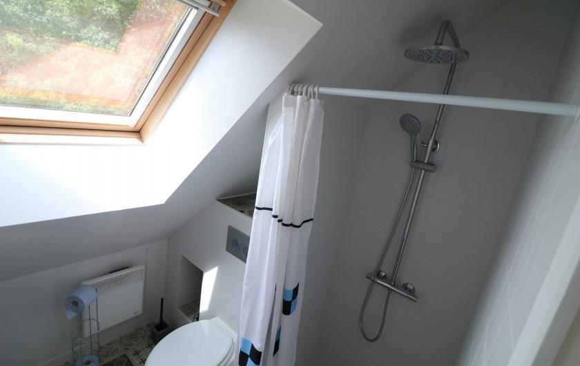 Location de vacances - Appartement à Nazelles-Négron - Salle de douche