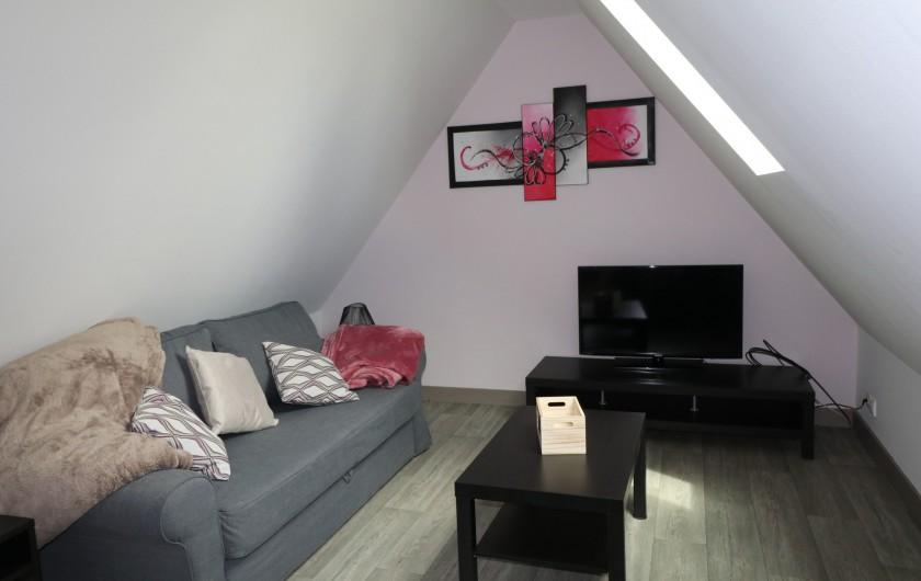 Location de vacances - Appartement à Nazelles-Négron - Salon