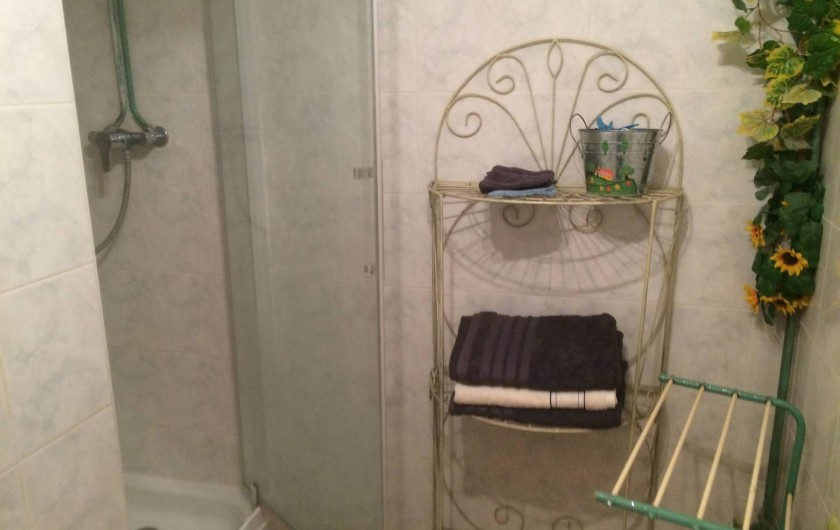 Location de vacances - Appartement à Manosque - La salle d'eau