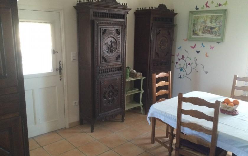 Location de vacances - Appartement à Manosque - Salle à manger