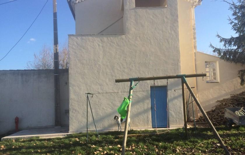 Location de vacances - Appartement à Manosque - Vue de l'accès indépendant du gîte.