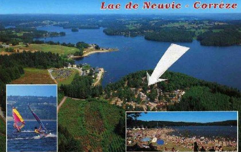 Mobil Home Au Camping Municipal Du Lac 224 Neuvic Dans Le