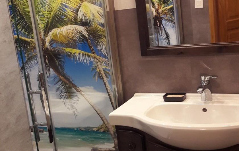 Location de vacances - Chambre d'hôtes à Le Menil - salle d'eau