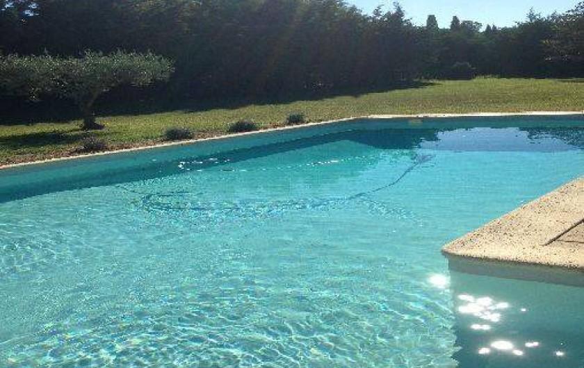 Location de vacances - Mas à Mas-Blanc-des-Alpilles