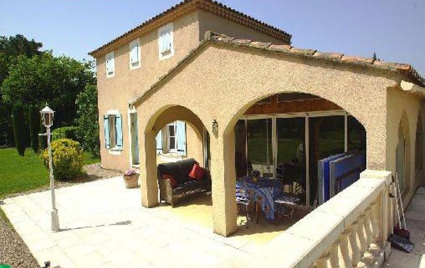 Location de vacances - Chambre d'hôtes à Vedène - Le Pool House
