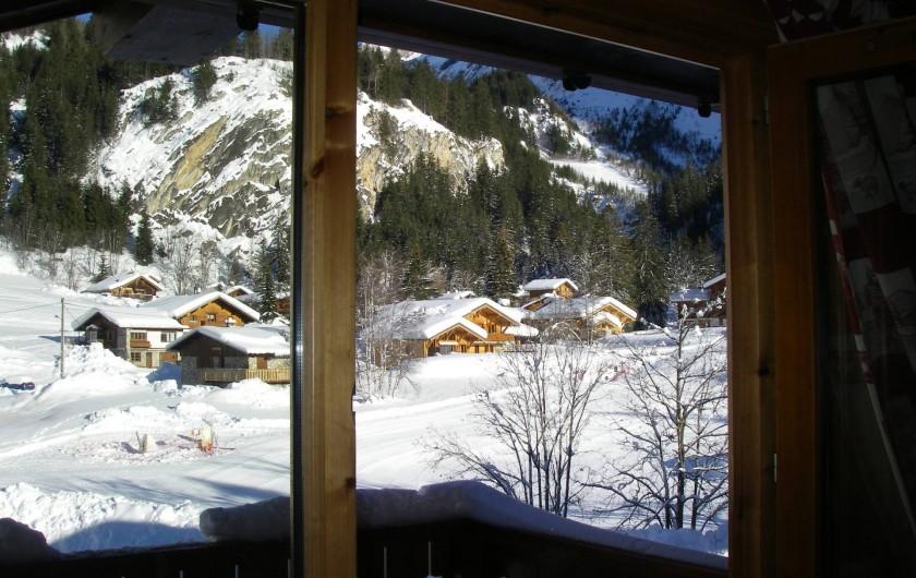 Location de vacances - Appartement à Pralognan-la-Vanoise - Le jardin des neiges, vu intérieure du Dôme des Sonnailles
