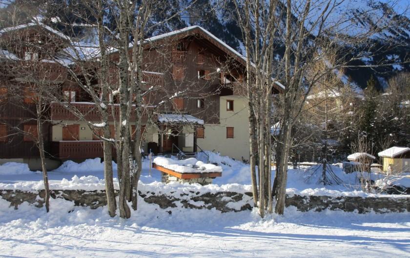 Location de vacances - Appartement à Pralognan-la-Vanoise - La Ferme de Pralognan, sans vis-à-vis