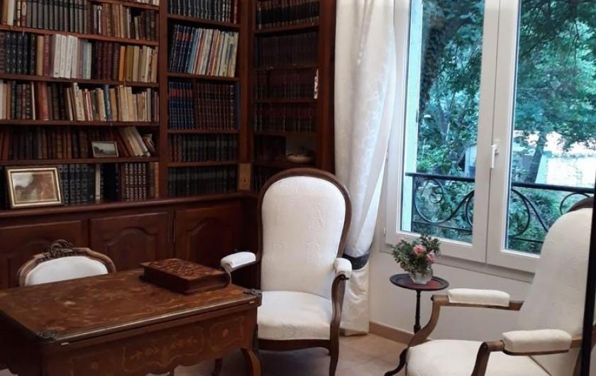 Location de vacances - Chambre d'hôtes à Saint-Martin-le-Vieil - La bibliothèque