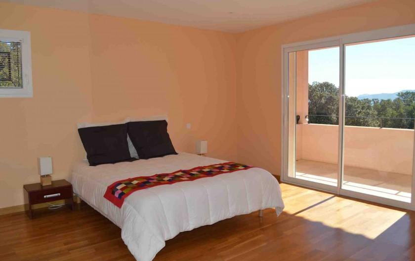 Location de vacances - Villa à Porto-Vecchio - Chambre parentale