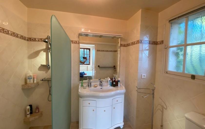 Location de vacances - Maison - Villa à Carqueiranne - Salle de bain