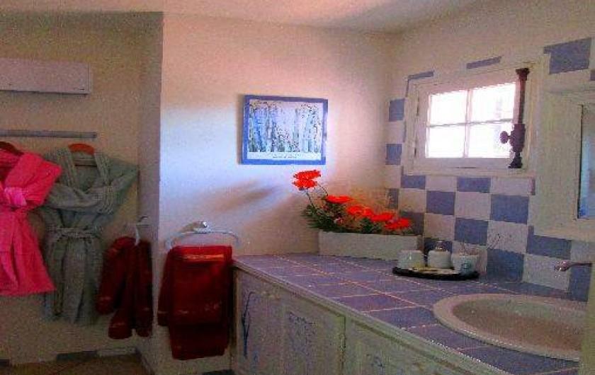 Location de vacances - Chambre d'hôtes à La Roquebrussanne