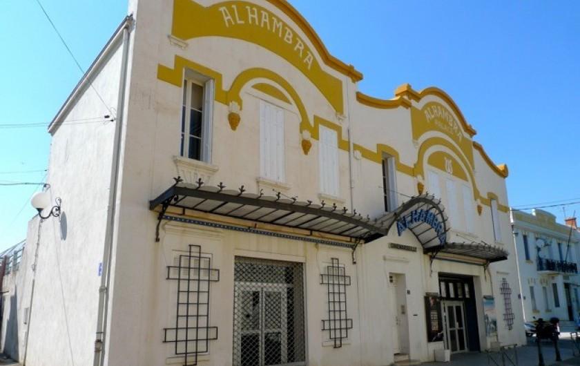 Location de vacances - Appartement à 16e Arrondissement - Cinéma de l'Alhambra