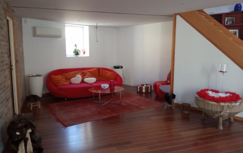 Location de vacances - Appartement à 16e Arrondissement - Salon