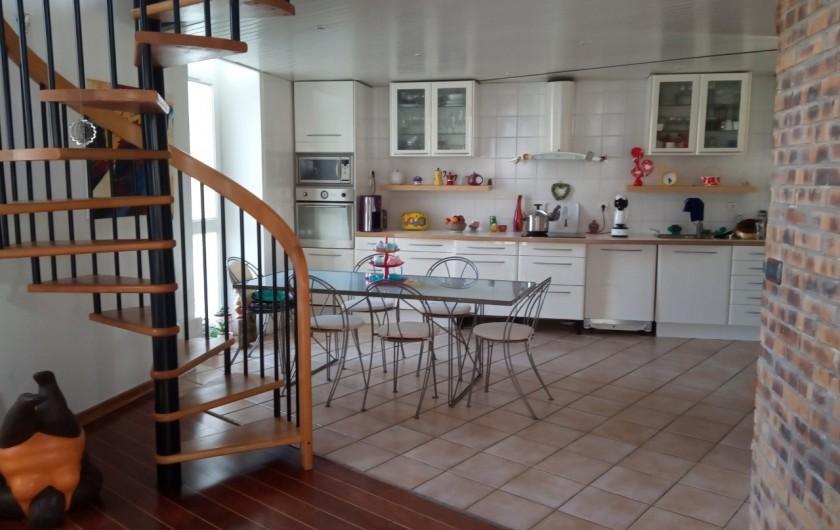 Location de vacances - Appartement à 16e Arrondissement - Cuisine