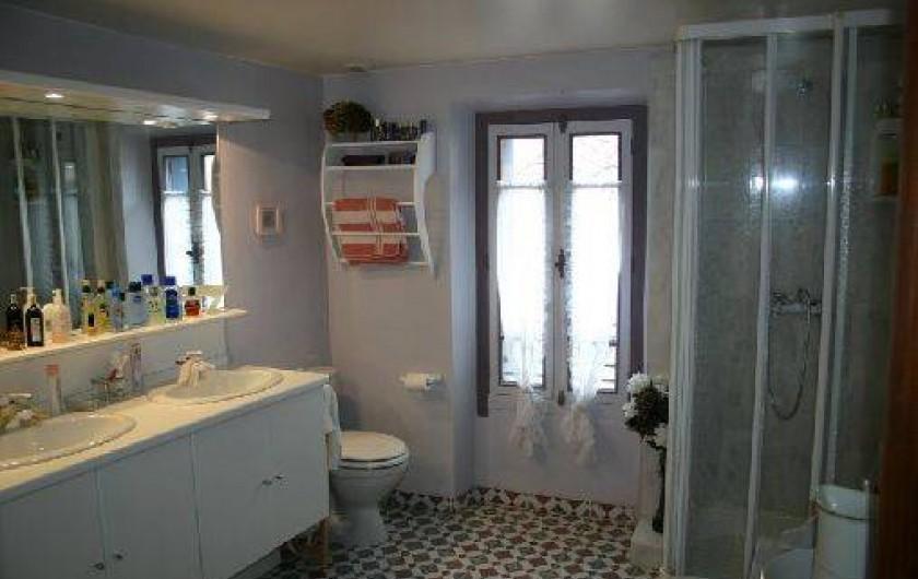 Location de vacances - Gîte à Carcassonne - salle d'eau