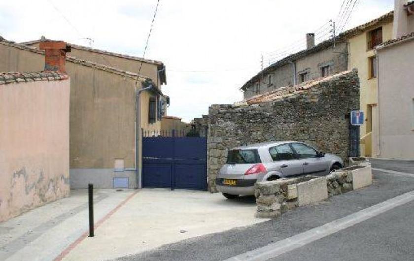 Location de vacances - Gîte à Carcassonne - PARKING PRIVE