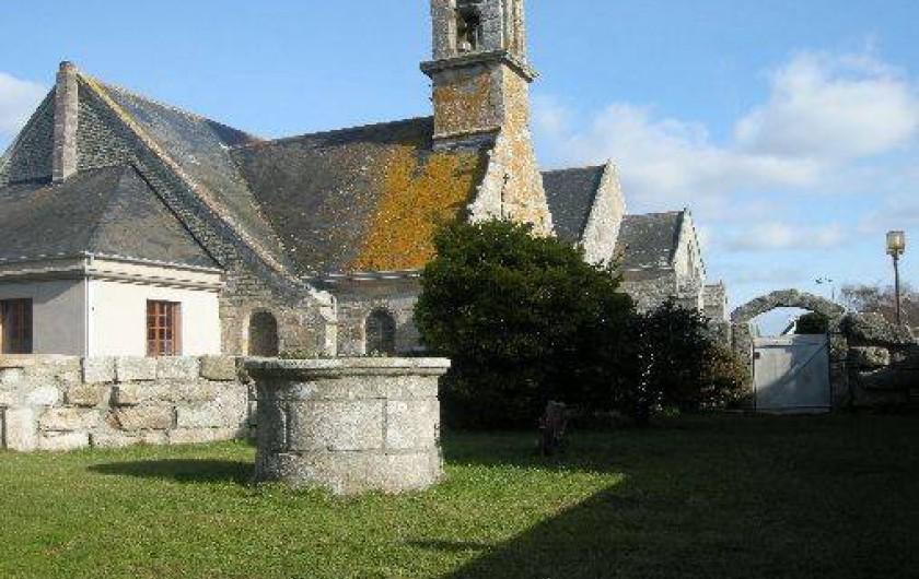 Location de vacances - Maison - Villa à Treffiagat - Vue du jardin