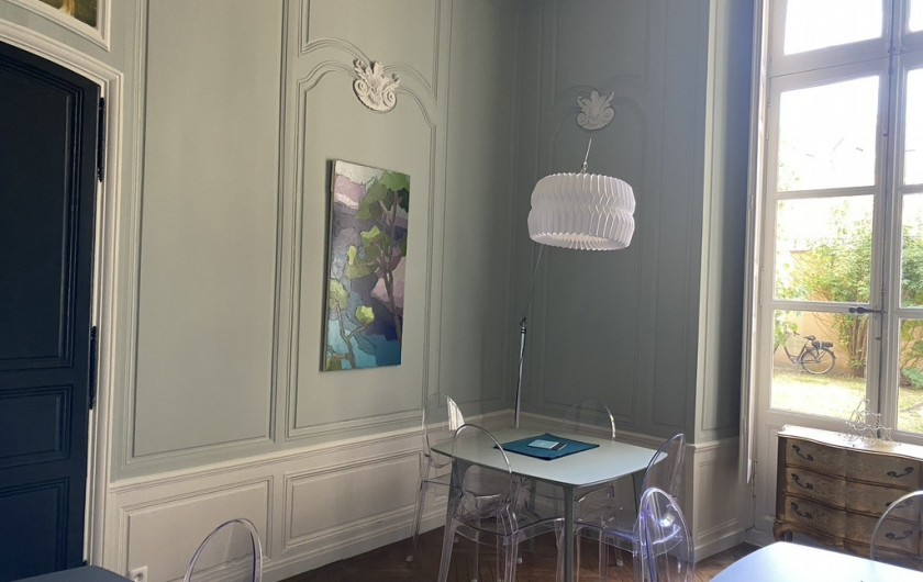 Location de vacances - Chambre d'hôtes à Le Mans - SALLE PDJ