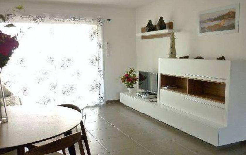 Location de vacances - Appartement à Propriano - salon