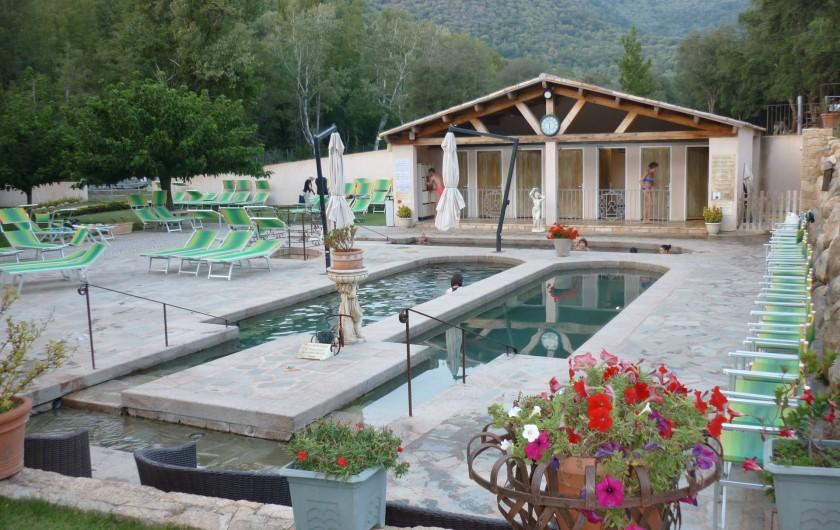 Location de vacances - Appartement à Propriano - Les Bains chauds sulfurés des CALDANES
