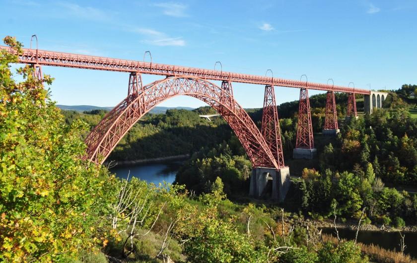 Location de vacances - Gîte à Saint-Flour - le Viaduc de Garabit