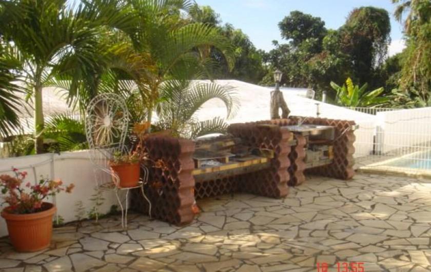 Location de vacances - Gîte à Bois De Nèfles - Barbecue