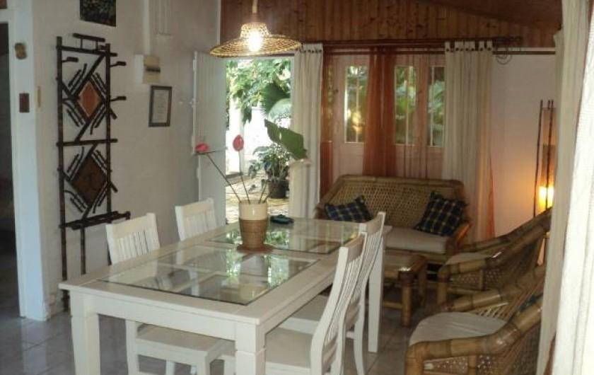 Location de vacances - Gîte à Bois De Nèfles - Séjour 1