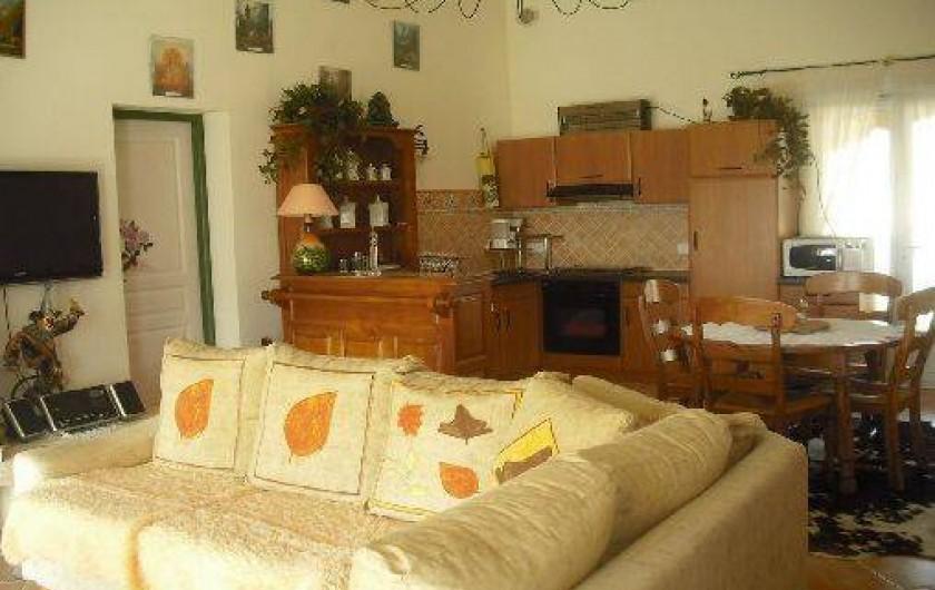 Location de vacances - Villa à Lussas
