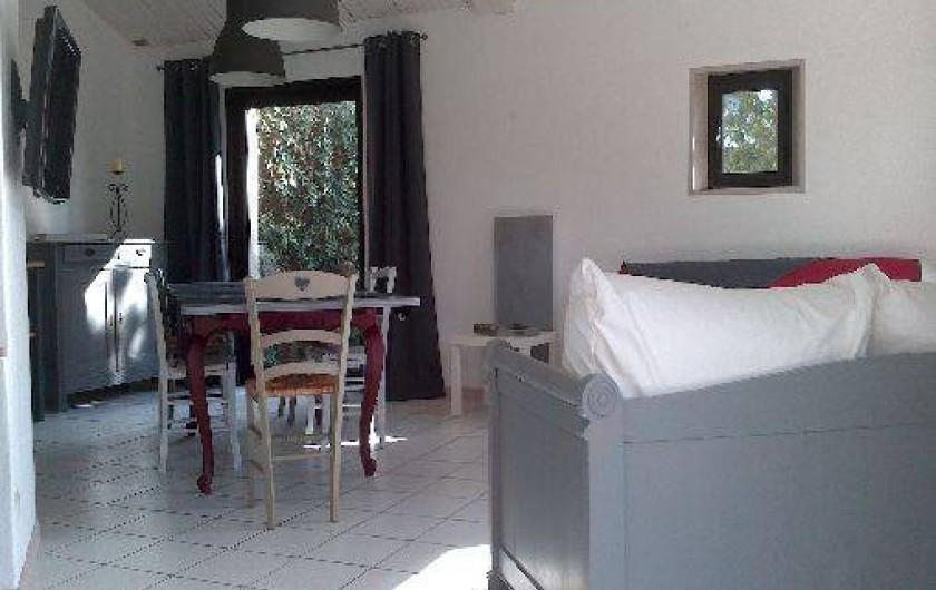 Location de vacances - Gîte à Sallertaine - Salon ,