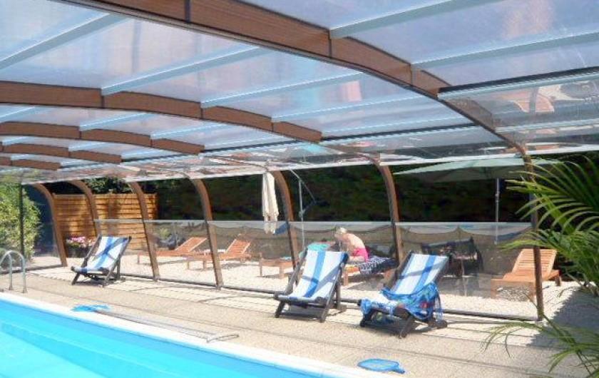 Location de vacances - Gîte à Sallertaine - piscine couverte chauffée accessible toute l'année hors juillet et août