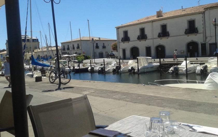 Location de vacances - Appartement à Marseillan - Port de Marseillan