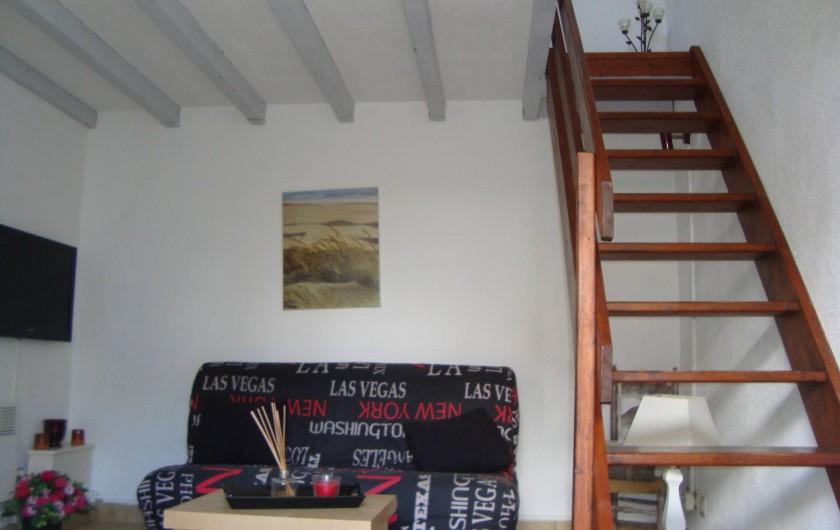 Location de vacances - Appartement à Marseillan - Salon