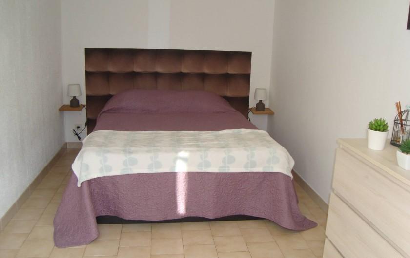 Location de vacances - Appartement à Marseillan - Chambre
