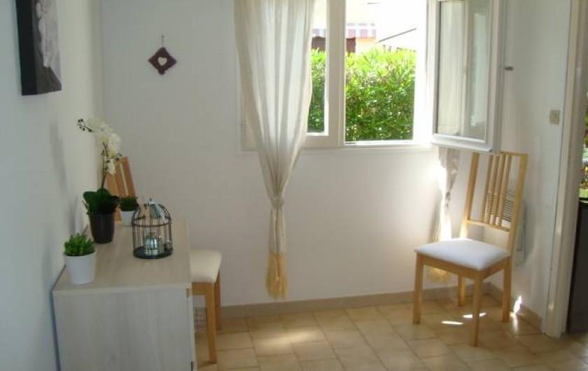 Location de vacances - Appartement à Marseillan - Vue de la chambre