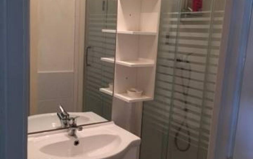 Location de vacances - Appartement à Marseillan - Salle de bains