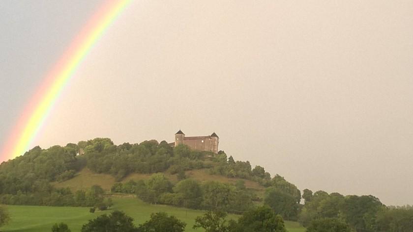 Arc en Ciel au dessus du Château