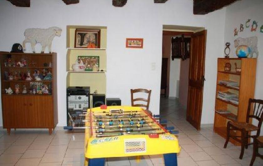 Location de vacances - Mas à Montfavet - Salle de jeux