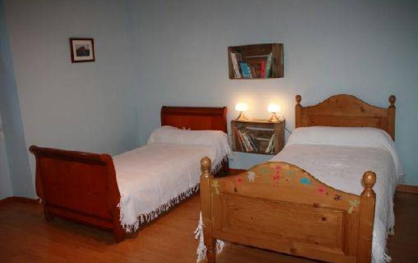 Location de vacances - Mas à Montfavet - Chambre bleuet