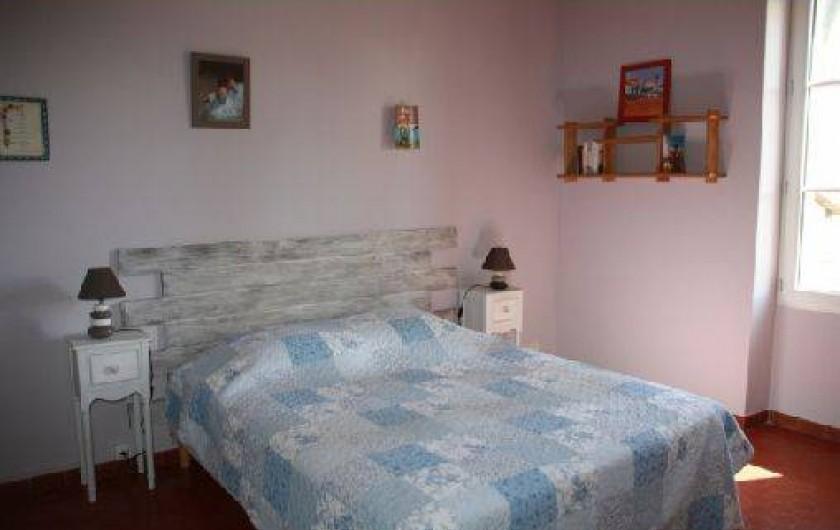 Location de vacances - Mas à Montfavet - Chambre lilas