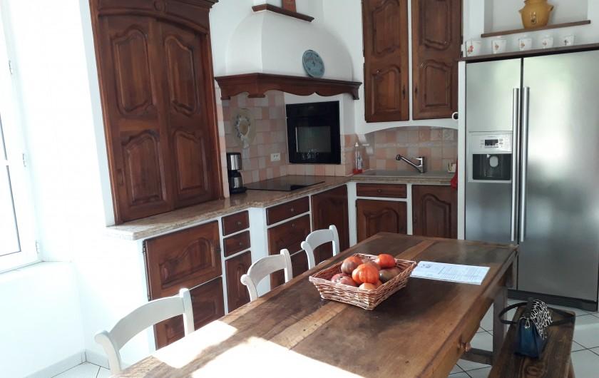 Location de vacances - Mas à Montfavet - piscine sécurisée