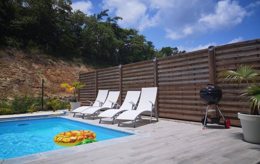 Location de vacances - Villa à Les Trois-Îlets - Vue sur la nature