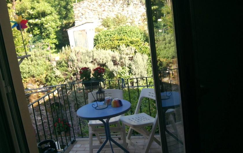 Location de vacances - Appartement à Levanto - balcon