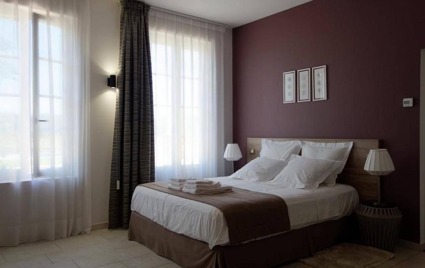 Location de vacances - Chambre d'hôtes à Saint-Magne-de-Castillon - Chambre Clématis