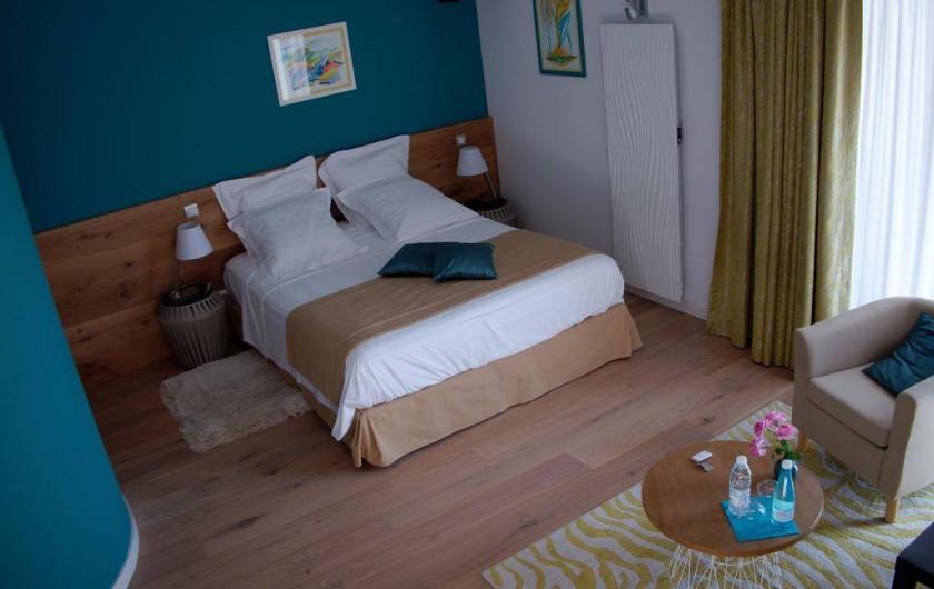 Location de vacances - Chambre d'hôtes à Saint-Magne-de-Castillon - Chambre Curaçao