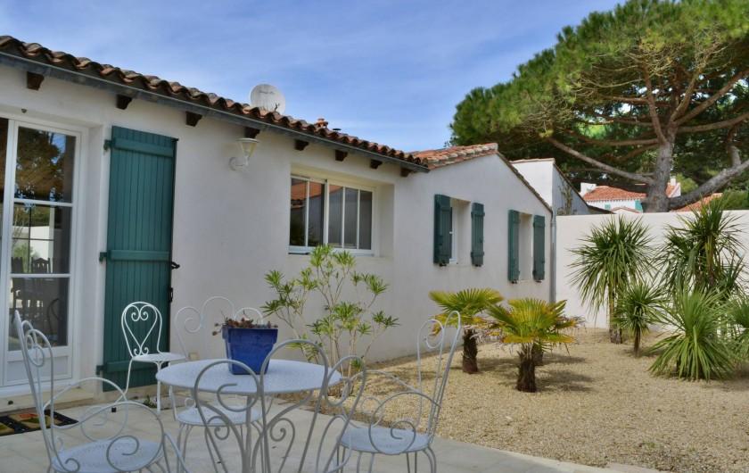 Location de vacances - Villa à Sainte-Marie-de-Ré - Le Patio
