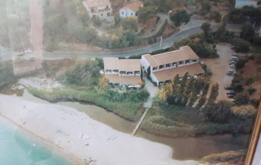 Location de vacances - Studio à Sagone - VUE AERIENNE DE LA RESIDENCE